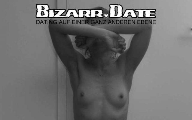 Blind Date mit blinder Frau.